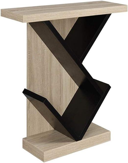 NAN Mesa consola - Tiras minimalistas modernas de madera maciza ...