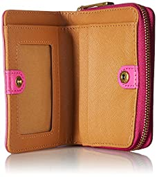 Emma Mini Multifunction Wallet Wallet, Hot Pink, One Size
