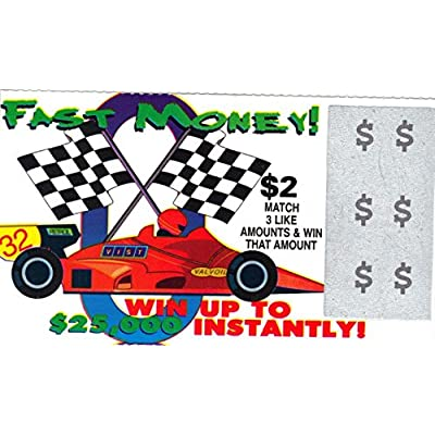 Fake Lottery Tickets: Toys & Games