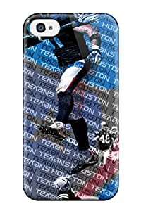 Best 6395043K695168384 houston texans NFL Sports & Colleges newest iPhone 4/4s cases