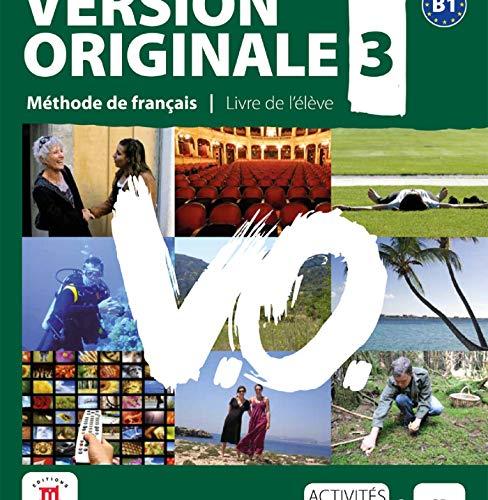 VERSION ORIGINALE 3 NIV B1 LIVRE ELE + CD (FLE NIVEAU ADULTE TVA 5,5%) (French Edition)