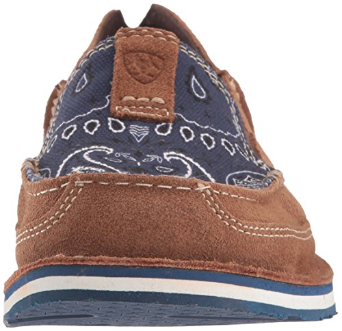 Toffee Paisley Cruiser Blue on Women's Shoe Slip Print Ariat TxwBFZqpB