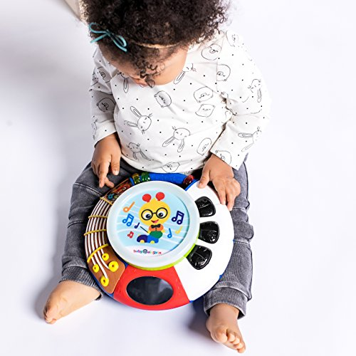 51C53VU YBL - Baby Einstein Music Explorer Musical Toy with Lights and Melodies, Ages 3 months +