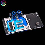 Bykski RGB VGA GPU Water Cooling Block For ASUS STRIX-GTX1050TI-O4G-GAMING