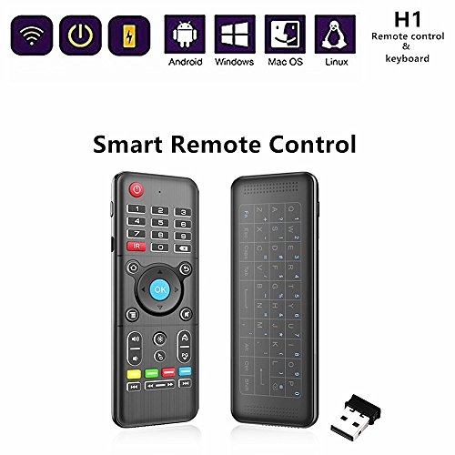 Touchpad Remote 2.4GHz Mini Portable Wireless Keyboard, touchpad Remote Control Keyboard for PC,Laptop,Mac OS,Linux,HTPC,IPTV,Google Android Smart TV Box,XBMC,Windows 2000