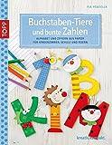 Buchstaben-Tiere und bunte Zahlen: Alphabet und Ziffern aus Papier für Kinderzimmer, Schule und Feste (kreativ.kompakt.)