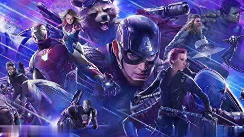 Avengers League Cartel De La Película Americano Capitán Iron ...