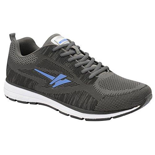 Gola Heren Fortuna Sneakers Grijs / Antraciet / Blauw