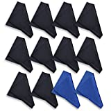 TERRAFIBER Premium Quality Microfiber Cleaning Cloth Packages for Tablets Cell Phones Eyeglasses Camera Lenses Jewelry and Other Delicate Surfaces (Pack of 12)