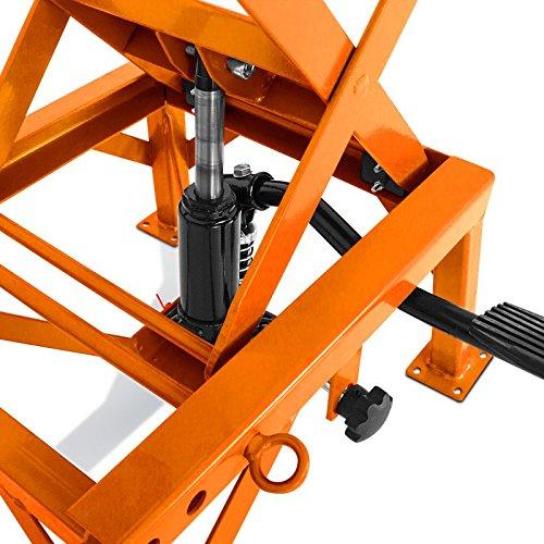 RX 125 ConStands RXV 450//550 Hydraulisch Moto-Cross XL Hubst/änder Orange Aprilia MX 125 Supermoto