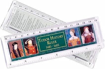 Amazon Com Tudor History Timeline Ruler Plastic 6 Toys Games