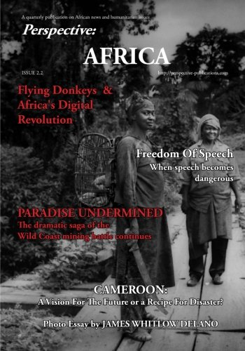 Book cover from Perspective: Africa (June 2016): A full color quarterly journal on Africa by Leigh Barrett