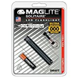 "Mag Instrument SJ3A016 LED Solitaire Flashlight, ""AAA"", Black - Quantity 6"