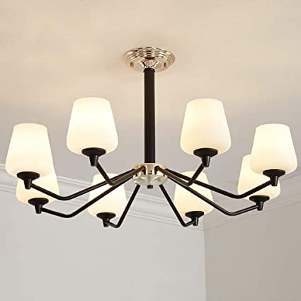 Lámpara de techo Minimalista Estadounidense Luces de Techo ...