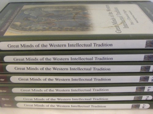 The Teaching Company: Great Minds of the Western Intellectual Tradition, Parts 1-7 by The Great Courses Teaching Company