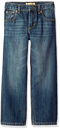 Wrangler Little Boys' 20X Extreme Relaxed Straight Leg Jean, Wells, 6 Reg - Reg Fit Jeans