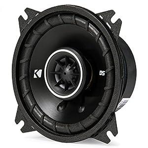 Kicker 43DSC44 D-Series 4-Inch 120 Watt 2-Way Coaxial Speakers (Pair)