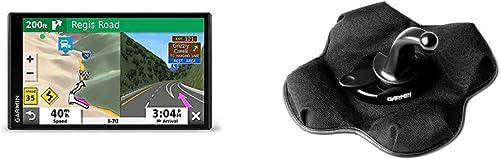 Garmin RV 780 GPS Navigator with Traffic Bundle with Garmin Portable Friction Mount – Frustration Free Packaging