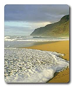 corporate mouse mats Polihale Beach Hawaii PC Custom Mouse Pads / Mouse Mats Case Cover