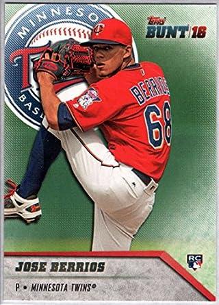 2016 Topps Chrome Youth Impact Baseball #YI-19 Jose Berrios Rookie Card