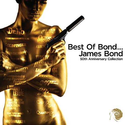 Original album cover of Best of Bond...James Bond 50th Anniversary by james bond themes