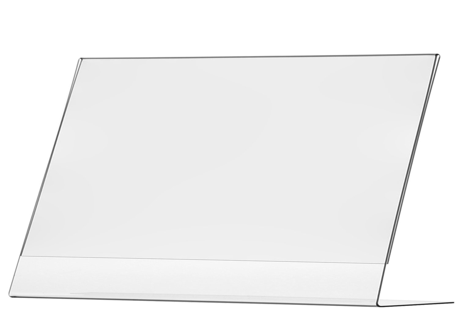 Marketing Holders Sign Holder 17''w x 11''h Table Top Side Loading Slant Back Lot of 5 by Marketing Holders (Image #1)