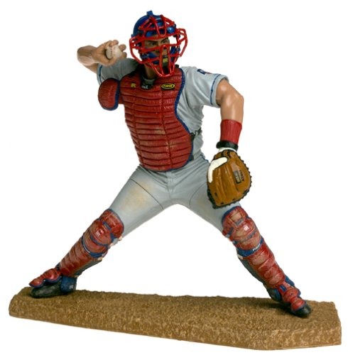 McFarlane Toys MLB Sports Picks Series 1 Action Figure Ivan Rodriguez (Texas Rangers) Gray Jersey ()