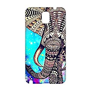 Evil-Store Beautiful flowers elephant 3D Phone Case for Samsung Galaxy s5