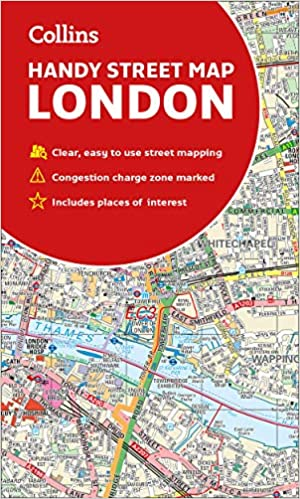 Street Map London Uk.Collins London Handy Street Map Amazon Co Uk Collins Maps