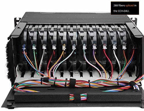 Corning CCH-04U Closet Connector Patch Panel Housing - Holds 12 CCH Connector Panels by Corning Cable Systems (Image #1)