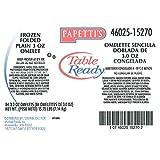 Michael Foods Papettis Plain Omelette, 3 Ounce - 84 per case.
