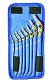 Bondhus 00017 HEX-PRO Pivot Head Wrench Set, Includes Sizes: 1/8, 9/64, 5/32, 3/16, 7/32, 1/4, 5/16 & 3/8'' (8 Piece), Chrome