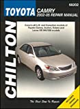 Toyota Camry Automotive Repair Manual, Jay Storer, 162092028X