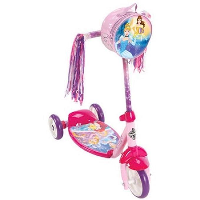 Amazon.com: Huffy las niñas Disney Princess 3 Rueda Scooter ...