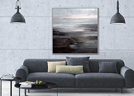 Quadri moderni camera da letto minimalista di soggiorno divano ...