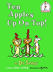Three friends balance counting and fun in this silly Beginner Book by Dr. Seuss and illustrated by Roy McKie. When a lion, a dog, and a tiger meet up, they soon discover that they can each do different things while balancing apples on their h...