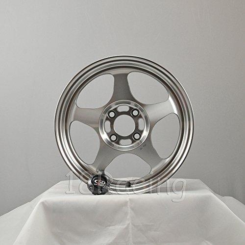 * ROTA SLIPSTREAM WHEELS 16X7 PCD:4X100 OFFSET:40 HB:67.1 FULL POLISH STEEL GREY - Wheel Rota