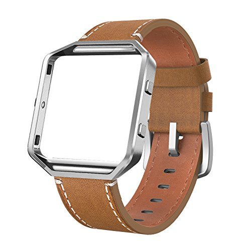Fitbit Blaze Bands Leather with Frame Small Large (5