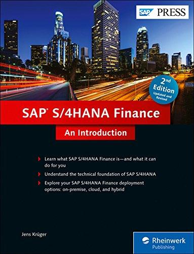 SAP S/4HANA Finance (SAP Simple Finance): An Introduction pdf epub