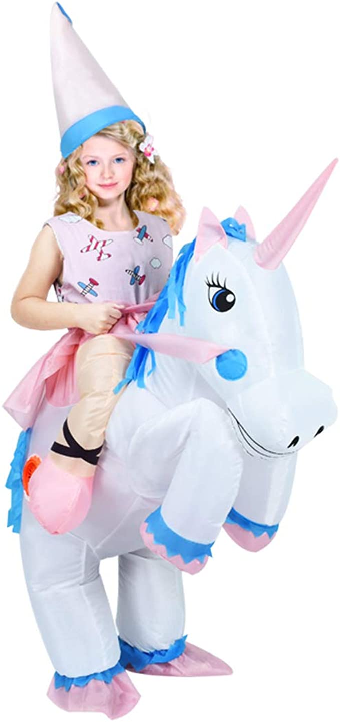 Amazon.com: anotherme hinchable unicornio disfraz de Rider ...