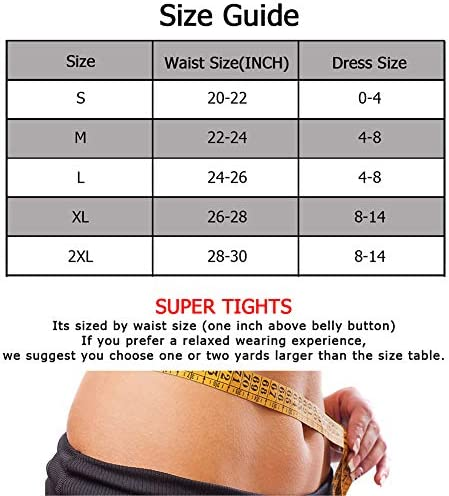 Fitever Women Body Shaper High Waist Shapewear Butt Lifter Tummy Control Panty Slimming Waist Trainer