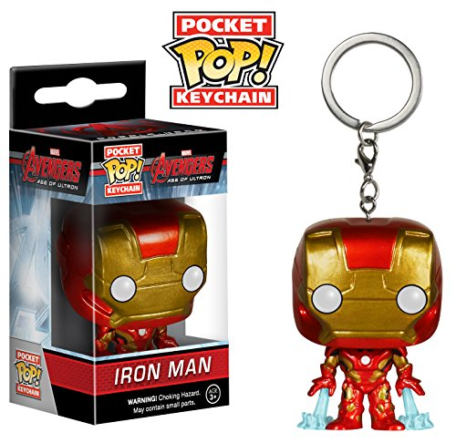 Funko Pocket POP Keychain: Marvel – Avengers 2 – Iron Man Action Figure