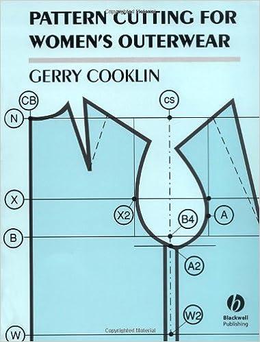 Download online Pattern Cutting for Women's Outerwear PDF, azw (Kindle), ePub, doc, mobi