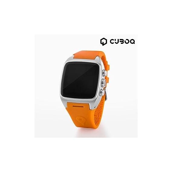 CuboQ IG112396 Android Watch Phone, Naranja: Amazon.es: Electrónica