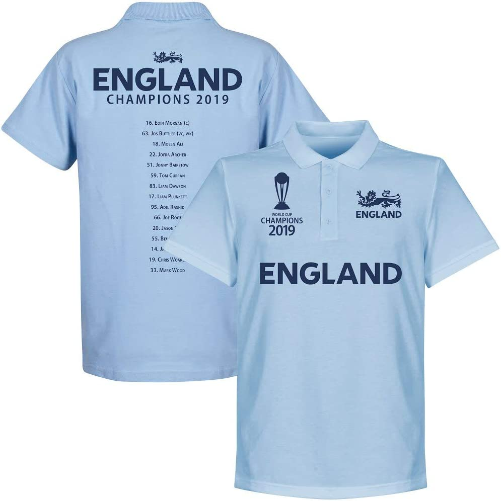 Sky Retake England Cricket World Cup Winners Squad Polo Shirt