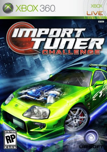 Import Tuner Challenge - Xbox 360 (Xbox 360 Racing Games With Car Customization)
