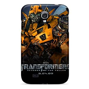 Unique Design Galaxy S4 Durable Tpu Case Cover Transformers 2 Official