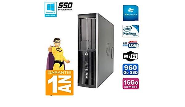 HP PC Compaq 8200 SFF Intel G630 RAM 16GB Disco 960 GB SSD ...