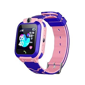 Niños GPS Tracker Reloj Inteligente Teléfono Niños Niñas ...