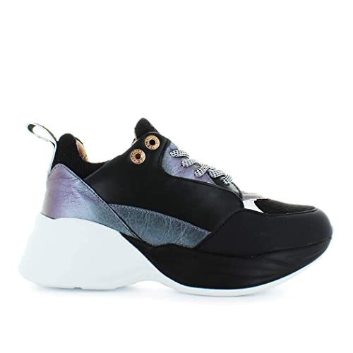 ALEXANDER SMITH Scarpe da Donna Sneaker Iride Nero Autunno ...